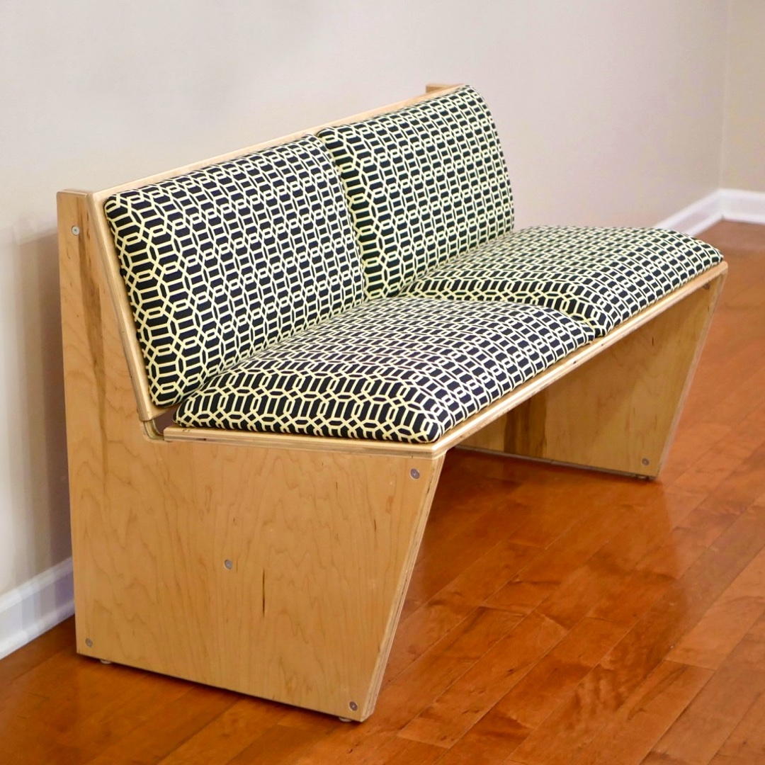 How To Build A DIY Modern Plywood Sofa Using 1 Sheet Of Plywood U2014 Crafted  Workshop