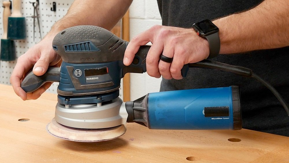 woodworking tools for beginners random orbit sander