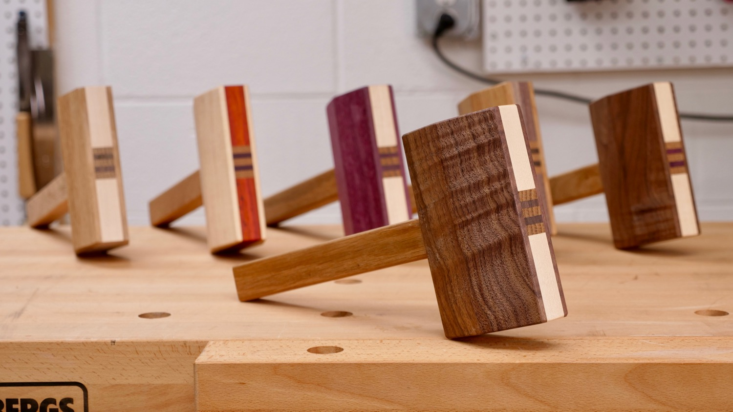 Make A Mallet From Scrap Wood | How To   Woodworking / DIY