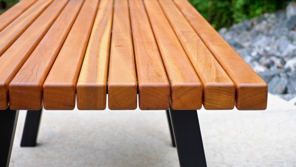 How To Build A Modern Outdoor Dining Table And Pergola