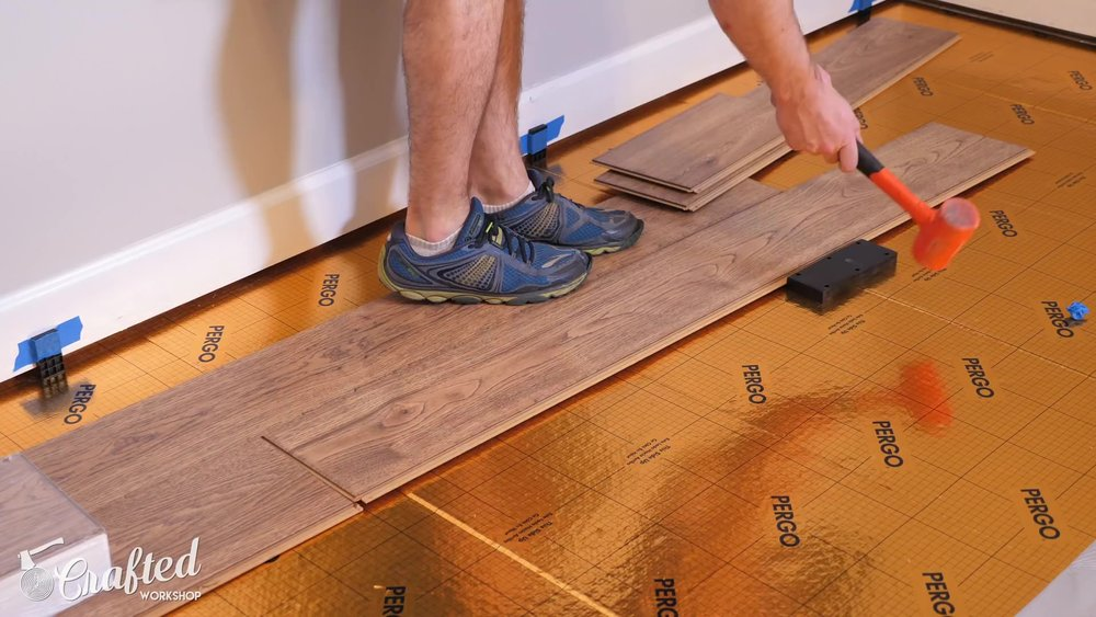 Installing Laminate Flooring For The First Time Crafted Workshop