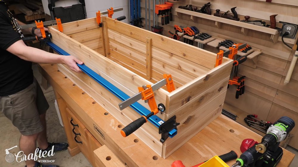 Clamping Panels Together