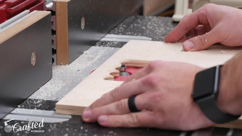 Chamfering the Handles