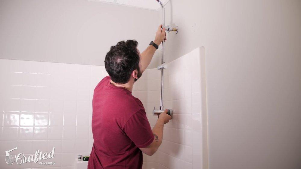 Shower Head Install
