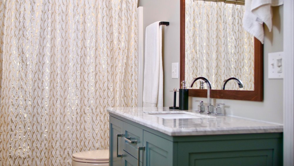 Diy Bathroom Remodel How To Install A Toilet Vanity