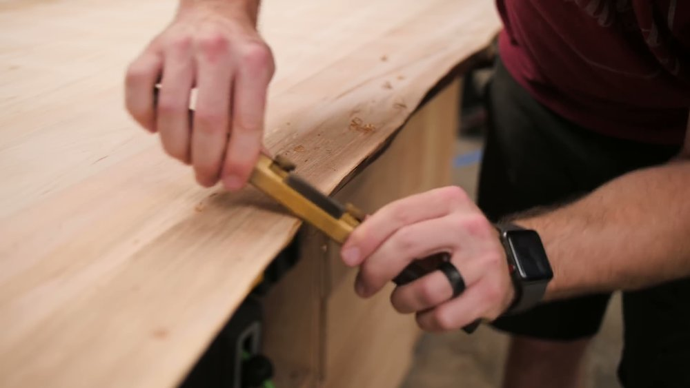 Breaking Edges with a Spokeshave