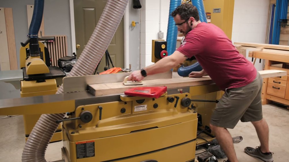 Jointing Lumber