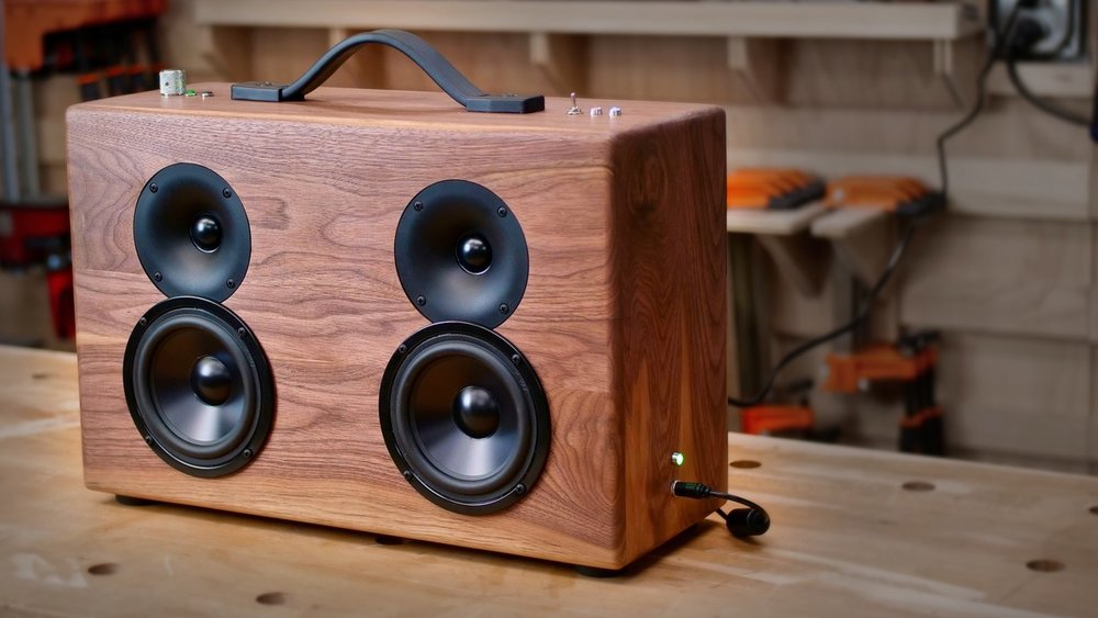 How To Build A DIY Battery Powered Bluetooth Speaker