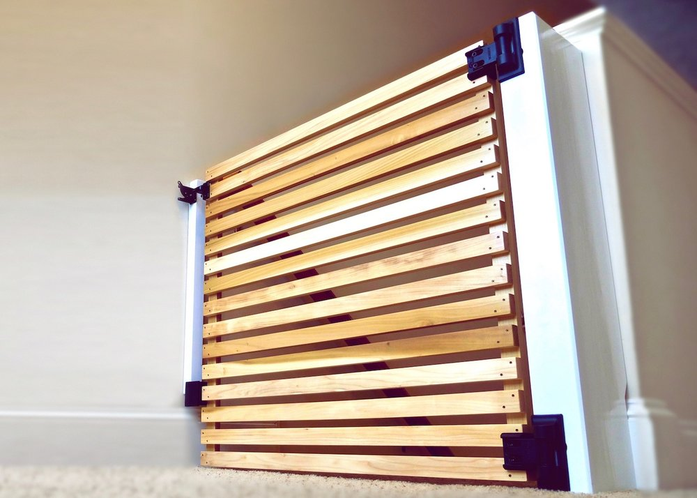 How To Build An Easy Diy Modern Baby Gate Or Pet Gate Crafted