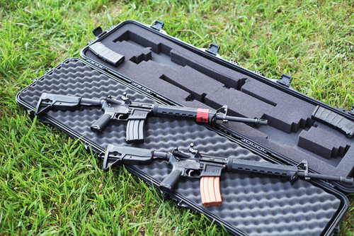 Firearms     Our Firearms Gallery Page is locked and loaded with high-quality images of an assortment of ceramic coated firearms and essential equipment.
