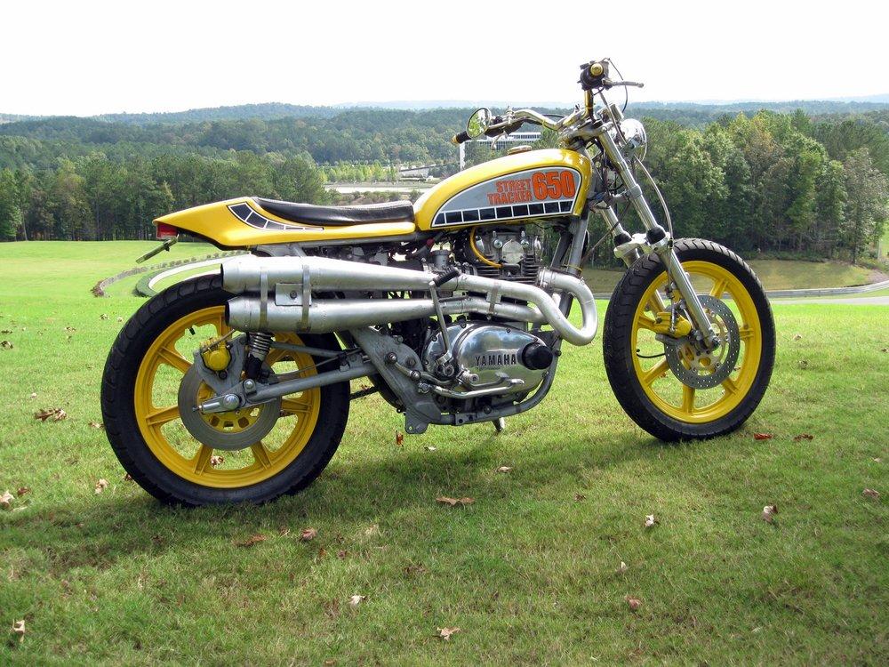 Wally's 1978 Yamaha XS650 Street Tracker
