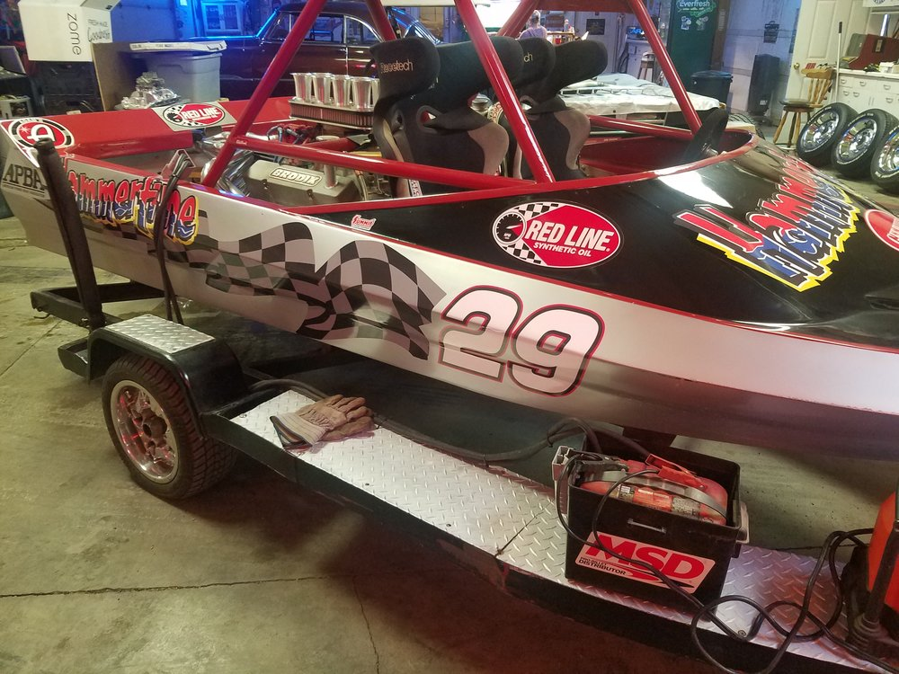 Hammertime Racing Sprint Boat