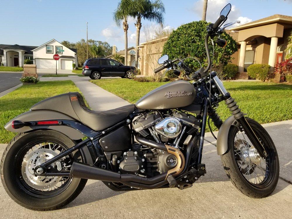 Matt's Harley