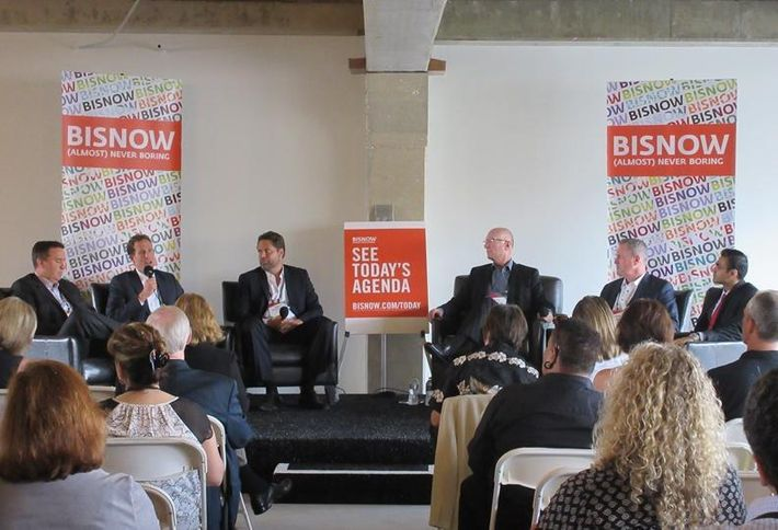 8.15.16    What does Long Beach have to offer? Plenty, according to developers at Bisnow's recent Future of Long Beach event.  Long Beach's fabulous amenities are helping put the city on the map, Sares-Regis Group president Christopher Payne told Ocean West principal Russ Allegrette, Ratkovich Properties president Cliff Ratkovich, JLL SVP George Thomson, Waterford Property Company president John Drachman, Farmers & Merchants Bank of Long Beach VP Anand Chokshi, and the more than 325 real estate professionals who attended. Anand, our moderator (far right), said he has heard comments about how Long Beach prices are a bargain and asked panelists to share their insights.   Read more at BISNOW