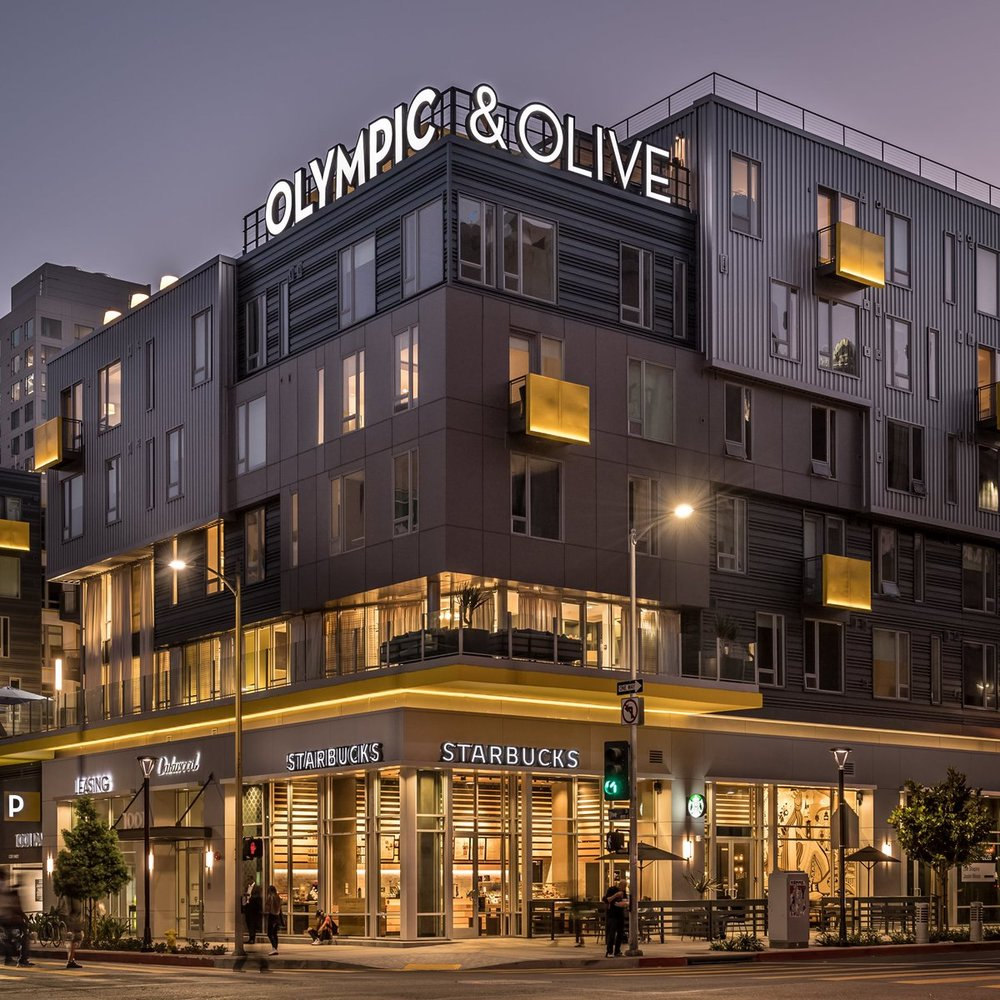 OLYMPIC & OLIVE - LOS ANGELES, CALIF