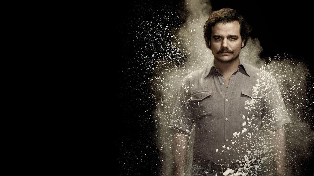 Image Source: Wagner Moura como Pablo Escobar, Netflix