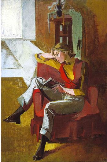 The Red Vest - Francoise Gilot