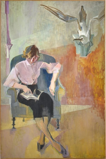 The Pink Blouse - Francoise Gilot