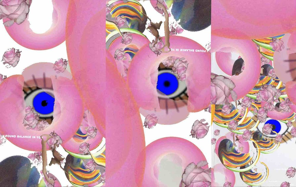 Collage hecho por Majo Enriquez