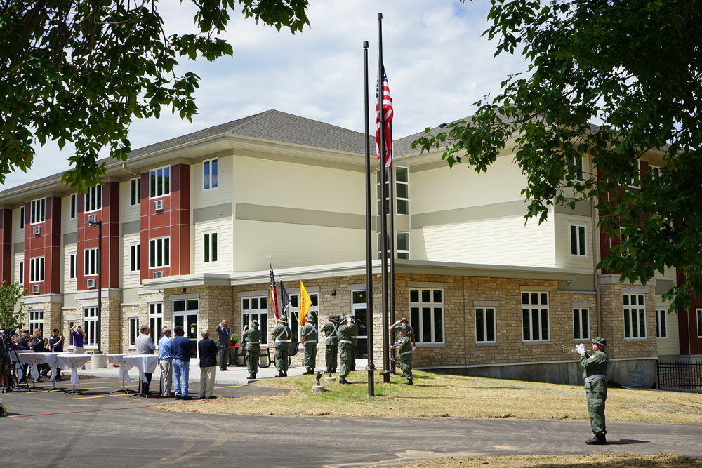 Green Bay Veterans Manor built with Low Income Housing Tax Credits.