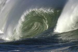 Frothy Green Ocean