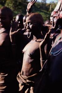 An Ethiopian 'mourning ritual' practiced among women