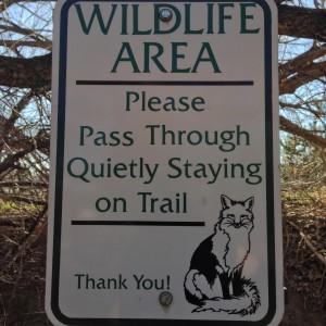 WildlifeAreaSign