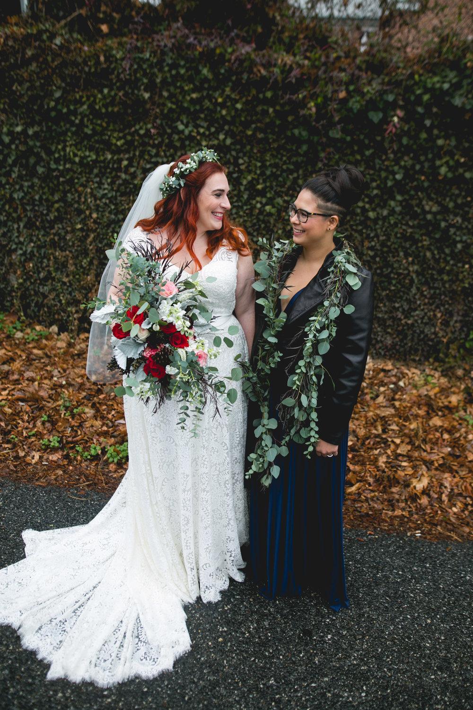 Philadelphia Lesbian Styled Patriotic Wedding 16
