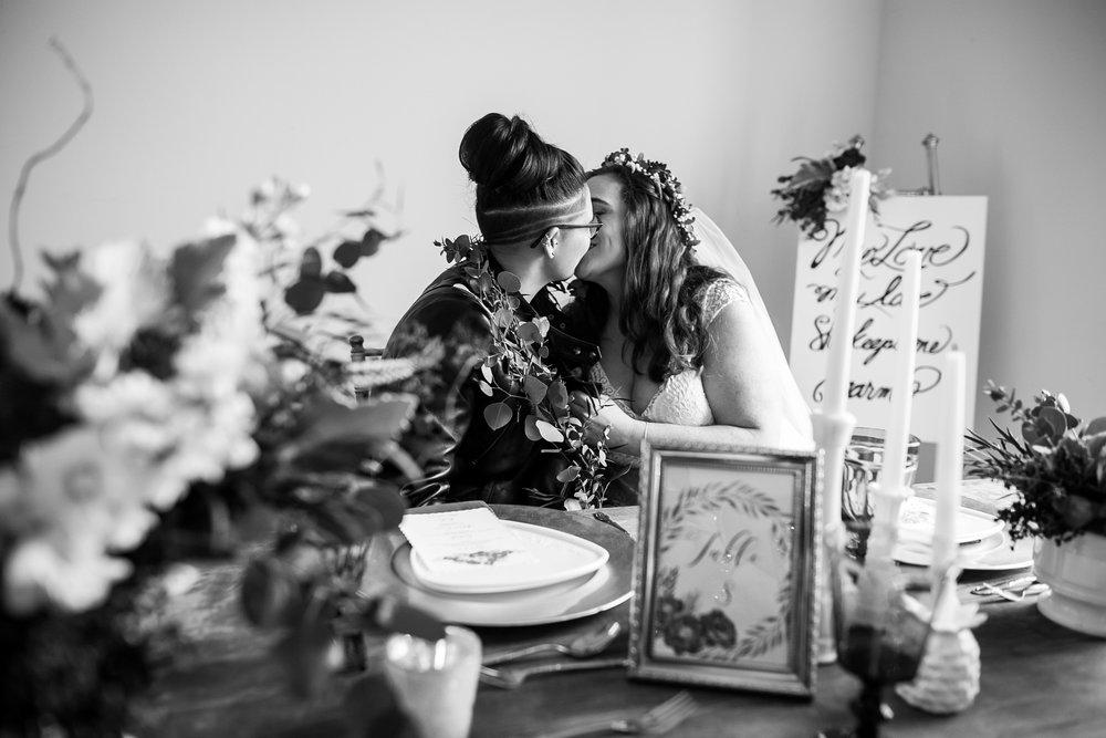 Philadelphia Lesbian Styled Patriotic Wedding 30