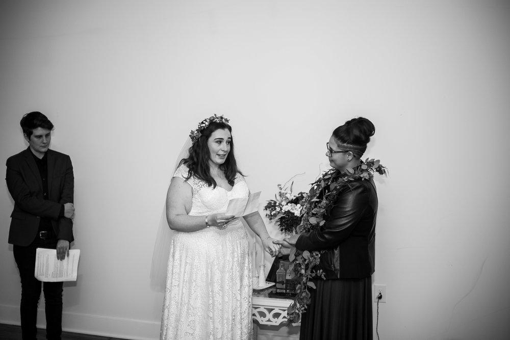 Philadelphia Lesbian Styled Patriotic Wedding 32
