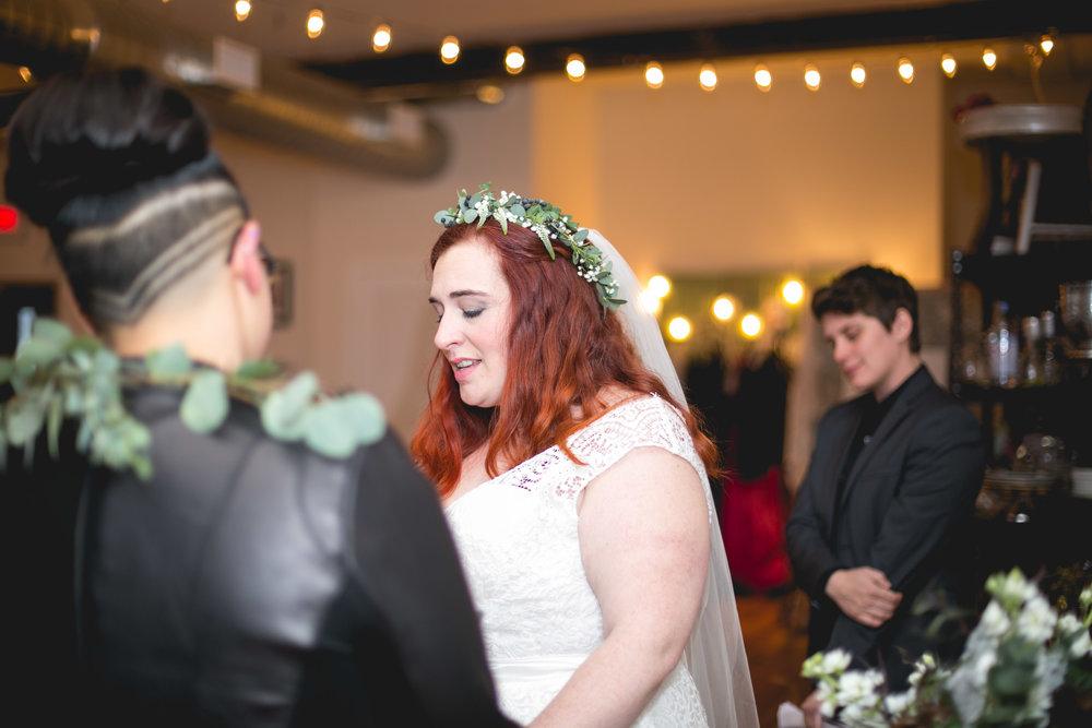 Philadelphia Lesbian Styled Patriotic Wedding 34