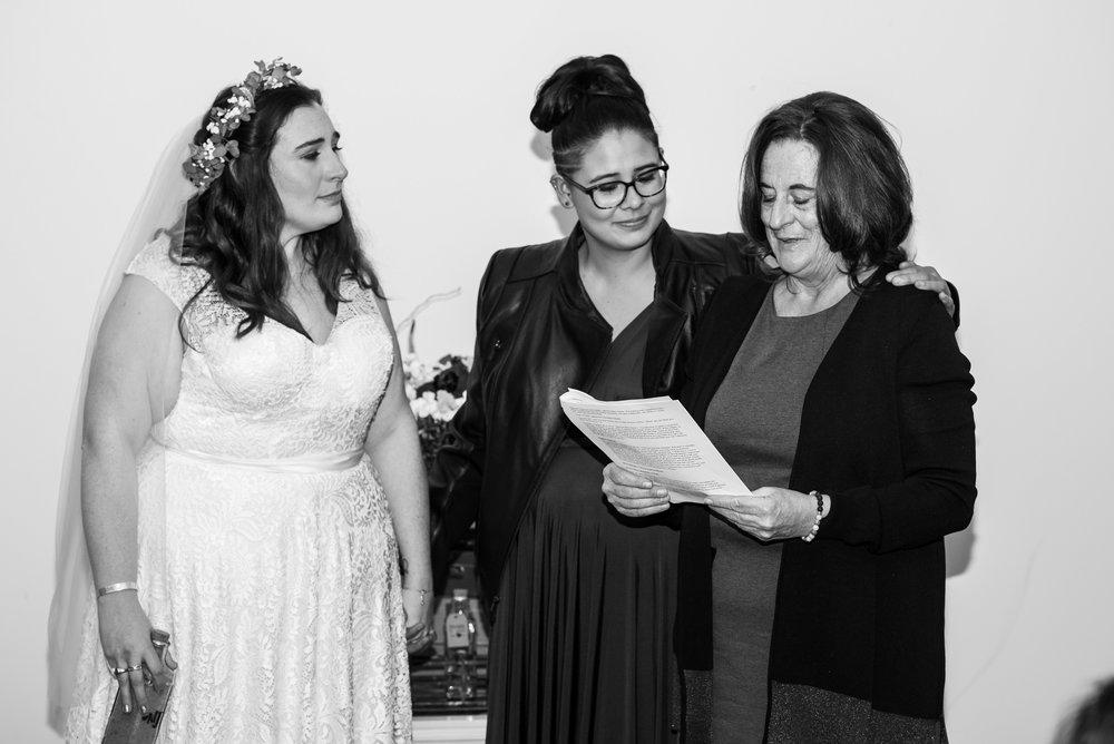 Philadelphia Lesbian Styled Patriotic Wedding 37