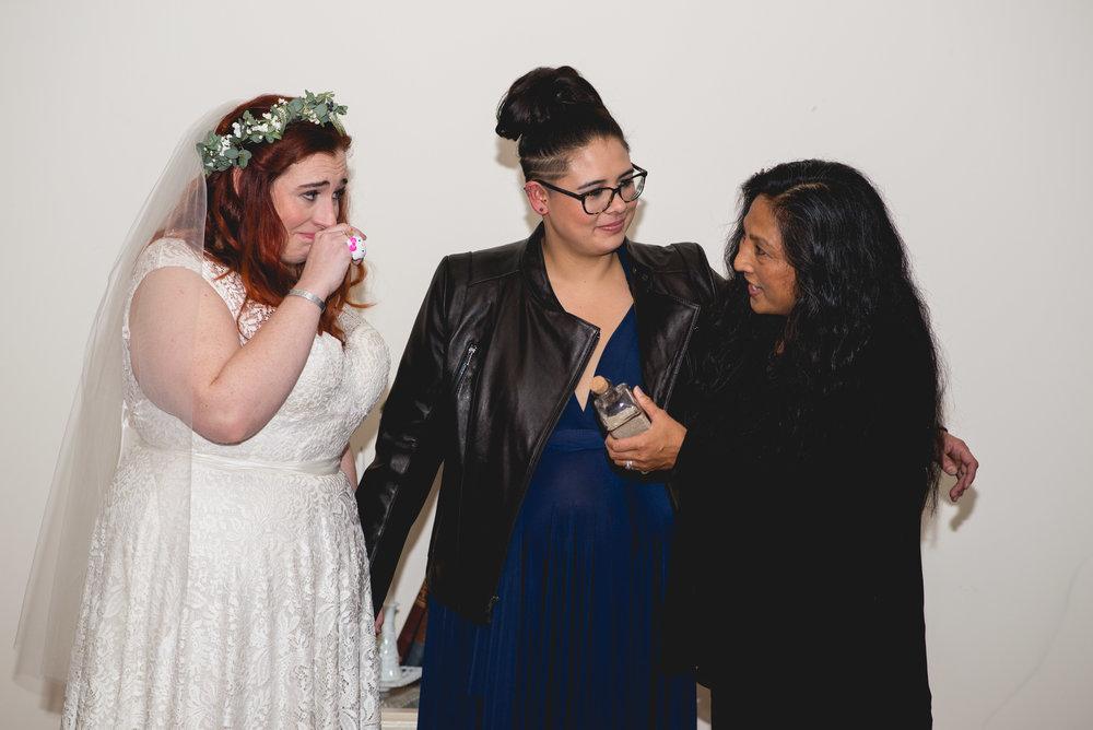 Philadelphia Lesbian Styled Patriotic Wedding 38