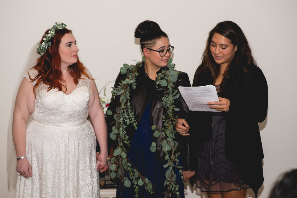 Philadelphia Lesbian Styled Patriotic Wedding 40
