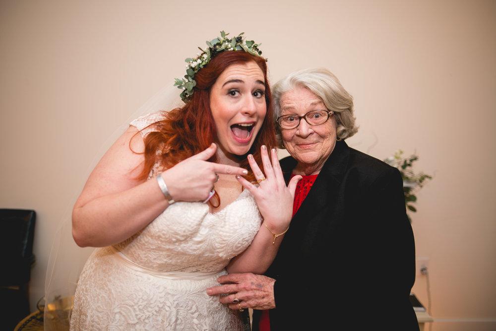 Philadelphia Lesbian Styled Patriotic Wedding 53