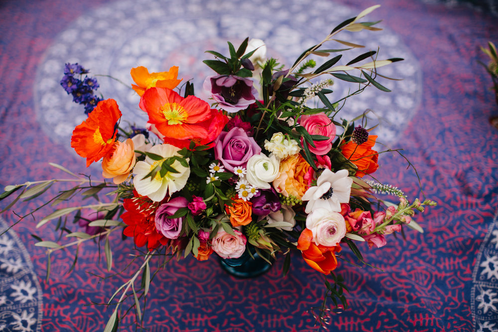 FEATURED VENDOR: Marigold and Moss, LLC Floral and Design services, specializing in locally grown and sustainable flowers.