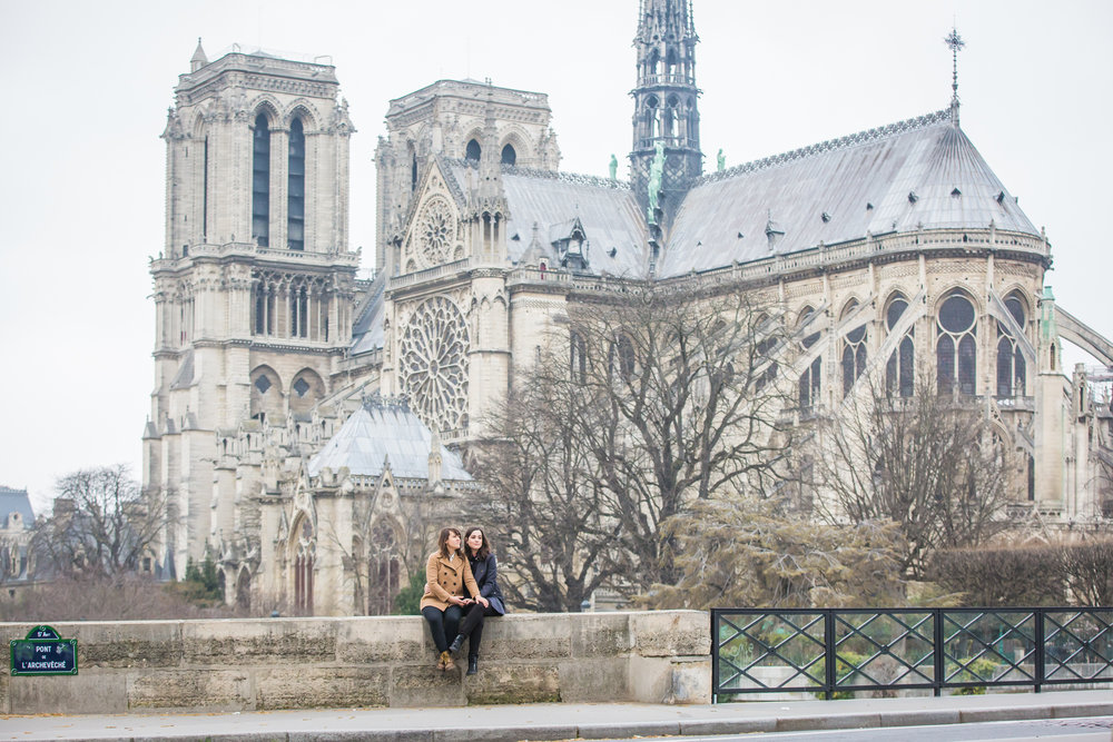 LGBTQ Paris ENgagement Session featured on Tantamount Love