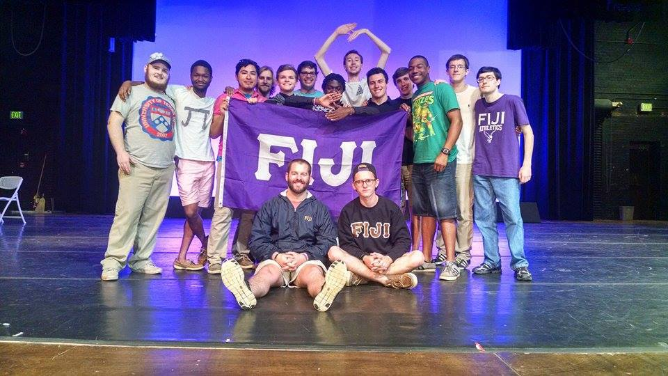 Greek Week Talent Show Winners, 2015 feat. Josh Wiseman, our former Field Sec