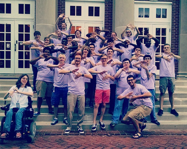 Bid Day. Sept. 12, 2014.