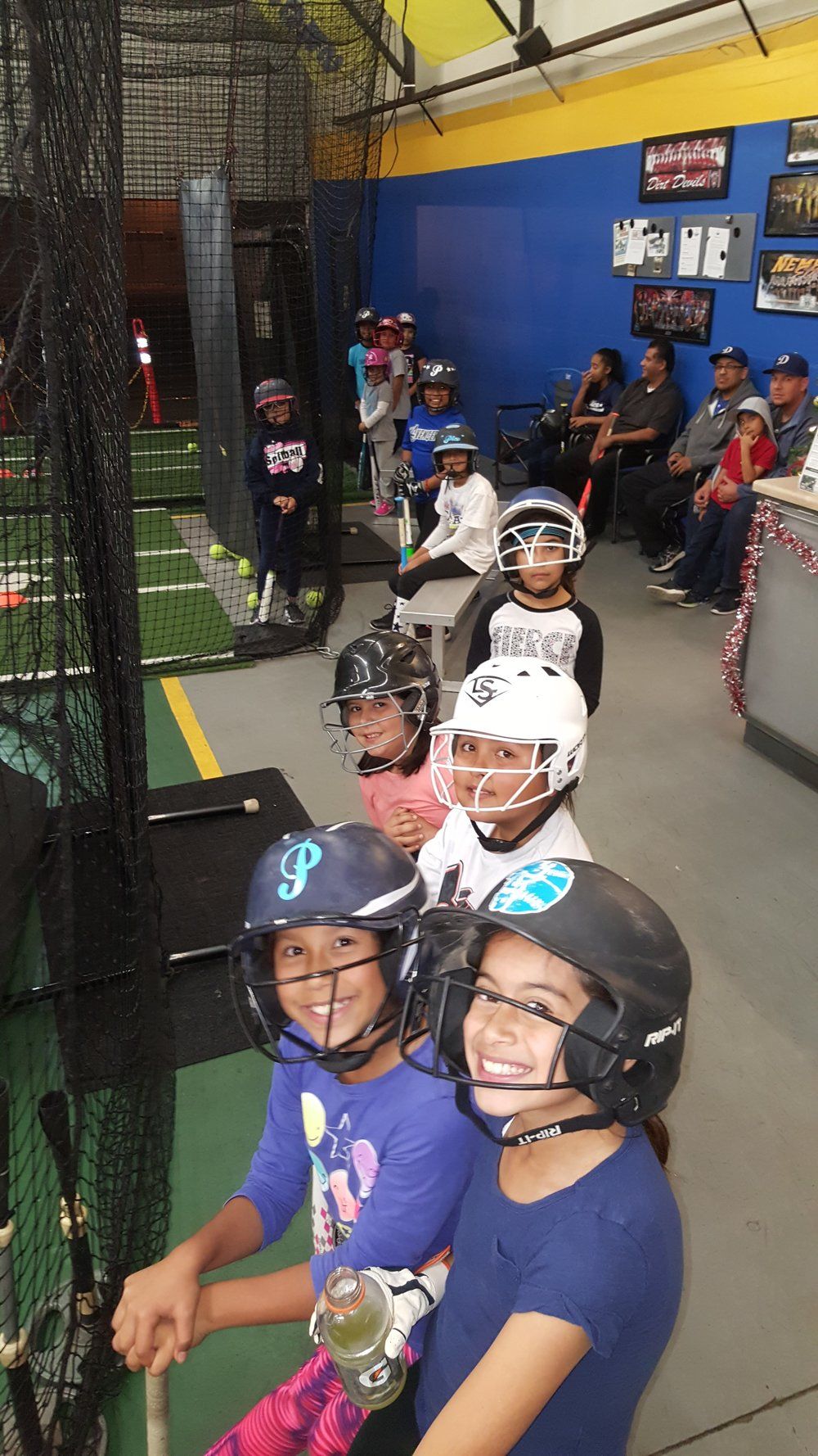Hitting Session #1@ Triple Play Batting Cages   - Group A 6-7pmGroup B 7-8pm