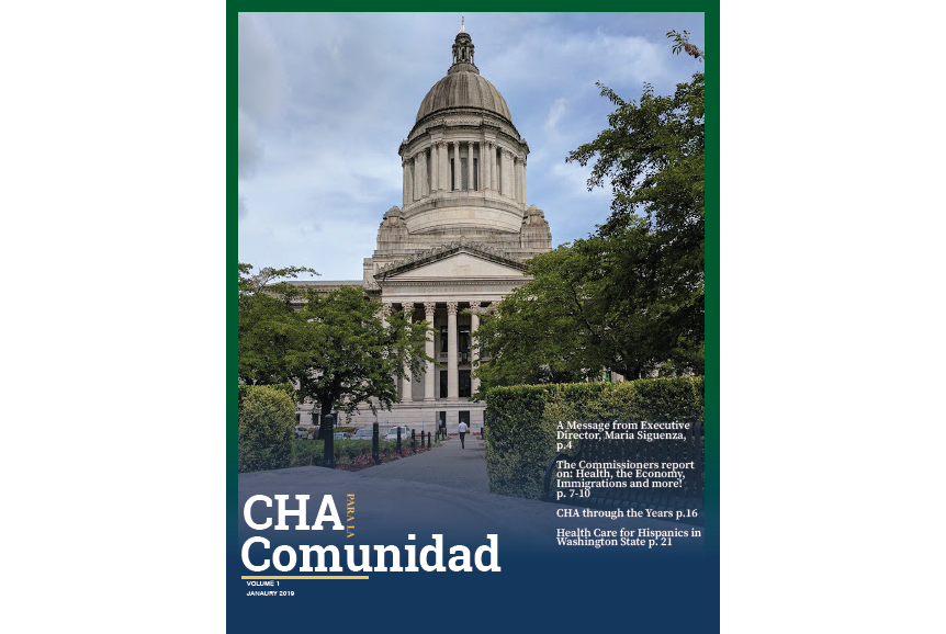 Download your copy today!    CHA PARA LA COMUNIDAD English Jan. 2019 Edition