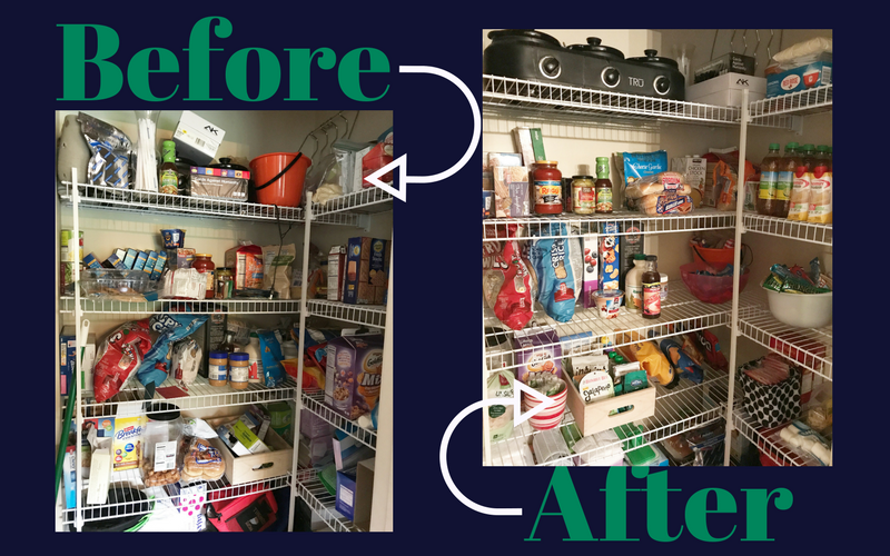 Family Pantry Organization
