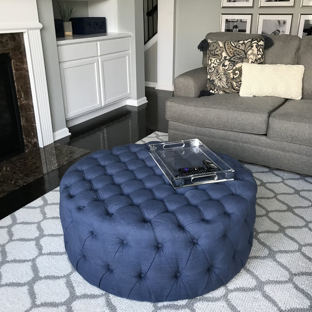 Ottoman - Safavieh from Home Depot