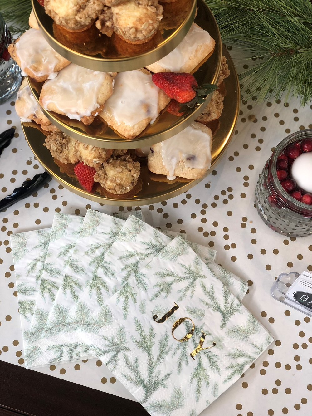 Treat yourself to some holiday goodies while you write up your holiday checklist.
