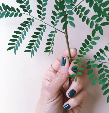 The most gorgeous manicure courtesy of  Nails by Nea t (Image Credit:  Nails by Neat )
