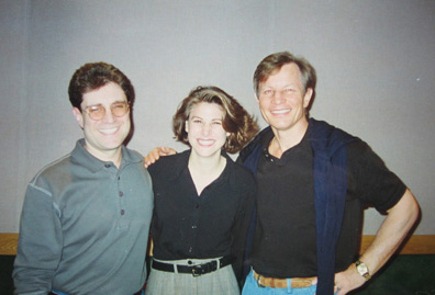 With David Goldsmith and Michael York