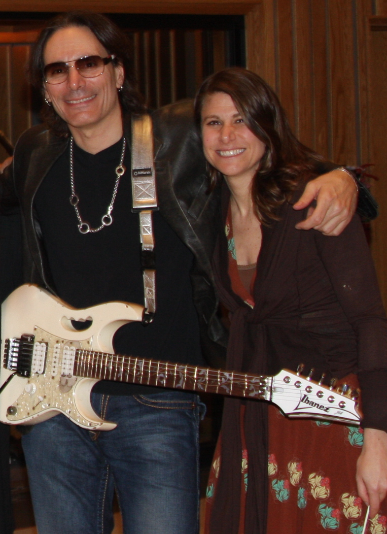 Working with guitarist Steve Vai
