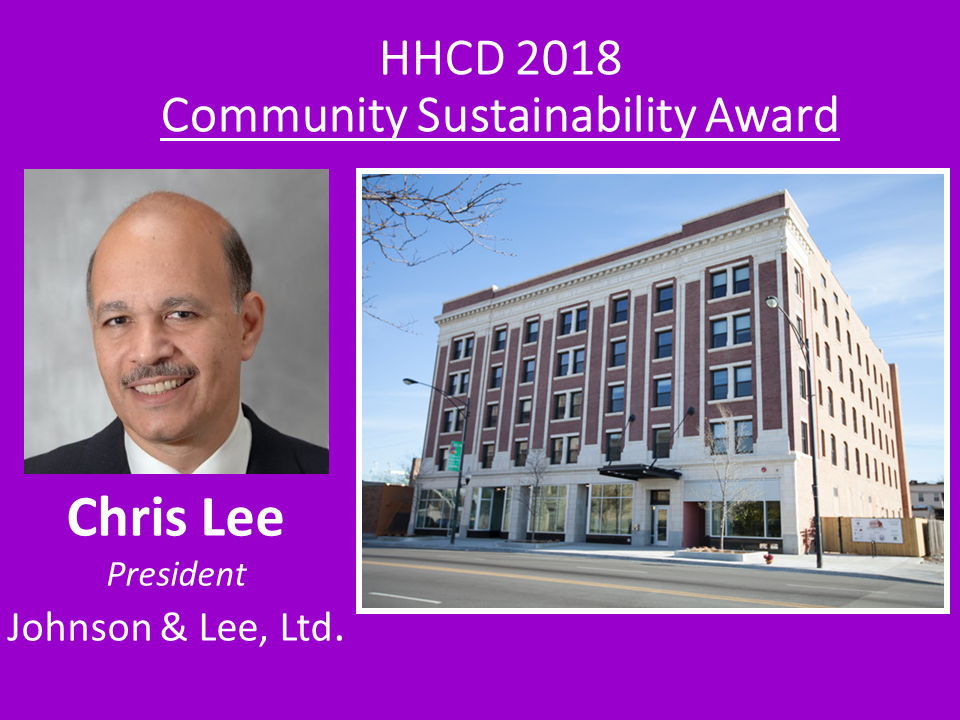 HHCD's first architectural partner as we expanded our non-profit role by broaching into development with the Historic Strand, Chris Lee showed us the way and encouraged us at this early step as co-developers.
