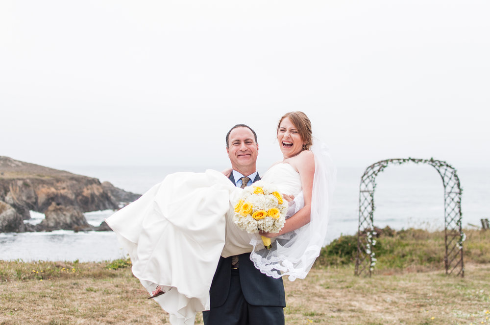 Fort Bragg+ Mendoicno+California+ Wedding+ Photographer
