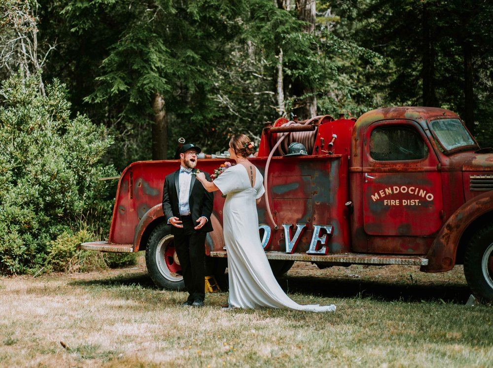 mendocino california + wedding + photographer